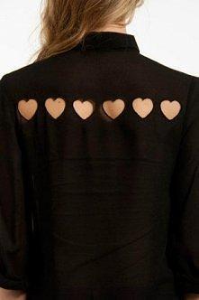 Koszula z sercami