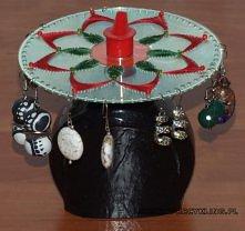 stojak na kolczyki z płyty