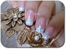 paznokcie Glitter