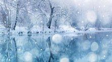 zimowo, śnieżnie