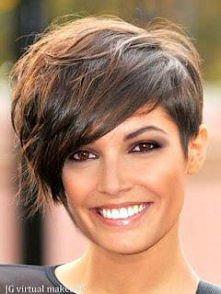 Fryzura krótkie włosy