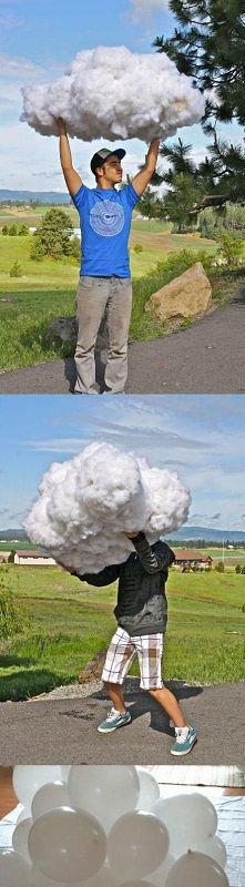 jak zrobić chmurę:D