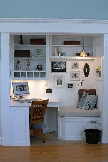 biurko + otoczenie