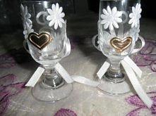 kieliszki dla młodej pary