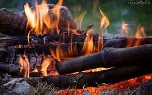 ogień...