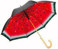 arbuzowy parasol pryda się ...