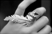claw and feather ring