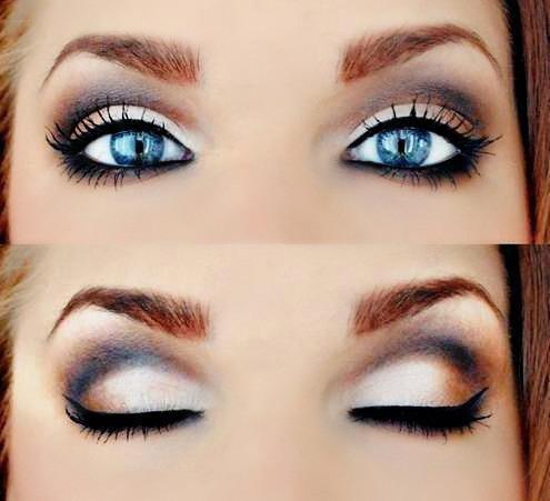 Nareszcie Znalazłam Makijaż Dla Siebie D Niebieskie Oczy 3 Na Mój