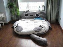 Słodkie łóżko:)