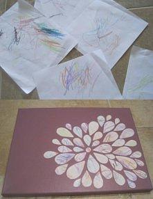 zamień dziecięce bazgroły w sztukę