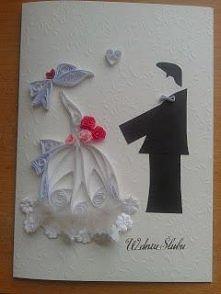kartka ślubna karteczkowo.b...