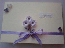 zaproszenie ślubne karteczk...