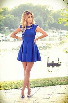 chabrowa sukienka:)