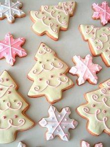 Zimowe ciasteczka :)