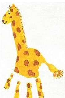 żyrafa.