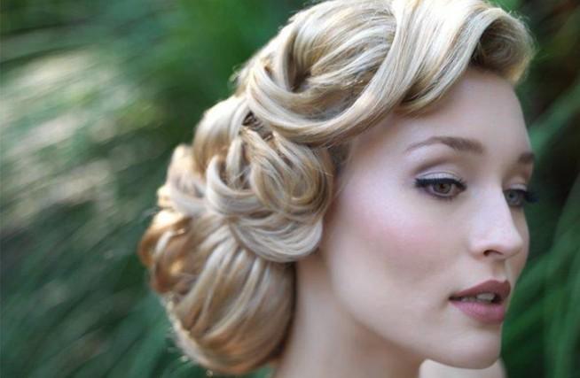 Piękna Fryzura Vintage Na ślub Zszywkapl