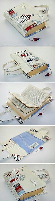przenośna okładka na książkę