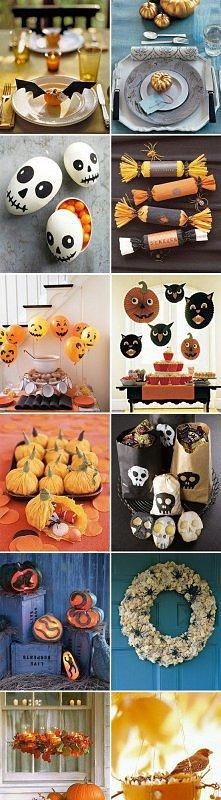 Ciekawe dekoracje na Halloween *.*
