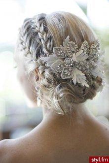 fryzurka w sam raz na ślub ...