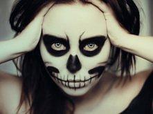 makijaż zrobiony cieniami do powiek :)  fot. Karolina Pakuła TheFiorka. blogspot. com
