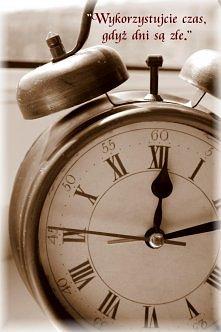 wykorzystujcie czas zegar