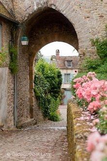 Francja czar uliczek