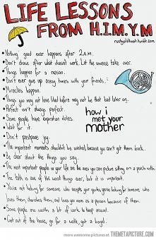 Life lessons from HIMYM ;)
