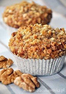 Muffinki migdałowo – orzechowe
