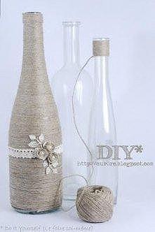 ozdobna butelka ;)