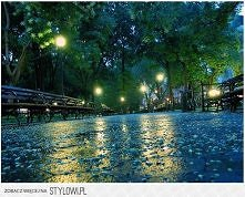 Rainy Night, Union Square, New York City