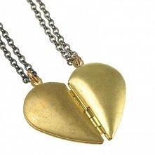 naszyjniki serce od Leviticus Jewelry