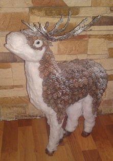 renifer:D dekoracje świąteczne