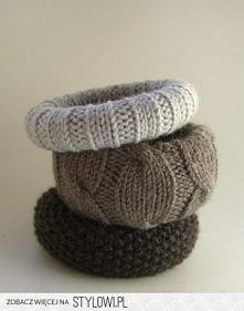 swetrowe;) bransoletki