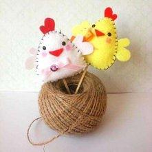 Filcowe kurczaczki
