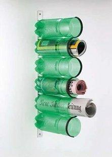 gazety w butelkę