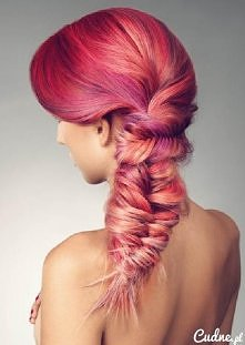 Rózowe włosy i kłos... Gr.