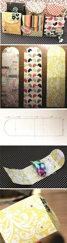 DIY opakowania na drobne prezenty