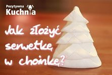 serwetka- choinka
