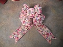 how to tie a Florist Bow ( ...