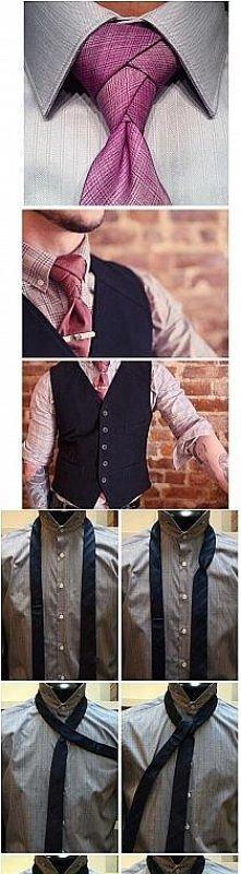 wiązanie krawata-inny sposób