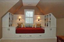 sypialnia na poddaszu