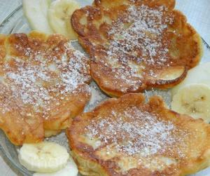 Racuszki bananowe
