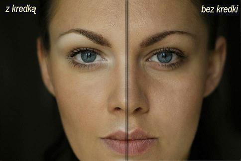 makijazu trik:to szerokie zastosowanie białej kredki, którą używa przede wszystkim jako rozświetlacz: -pod łuk brwiowy – optycznie podnosi brwi -na linię wodną oka – otwiera oko -kąciki oczu – ukrywa zaczerwienienia -na całą powiekę ruchomą, jako baza pod cienie, które stają się bardziej trwałe oraz kolory zyskują intensywność -można delikatnie nałożyć pod okiem, aby rozświetlić ten obszar -nałożona na grzbiet nosa, doskonale go wysmukla, oraz poprawia kształt, maskując drobne krzywizny ;P -na łuk kupidyna, usta wydają się wtedy pełniejsze, bardziej trójwymiarowe -pod ustami, na brodę, aby nadać proporcji twarzy