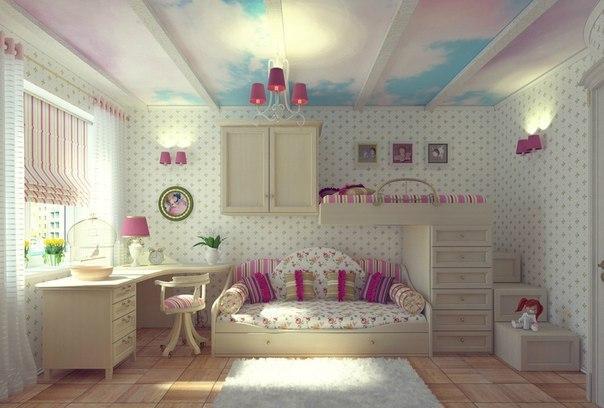 Sypialnia Dla Dziewczynki Na Pomysły Zszywkapl