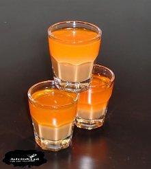Słońce w błocie  Składniki:      20 ml likieru czekoladowego     30 ml likieru pomarańczowego  Przygotowanie:  Składniki wlewać w podanej kolejności – drugi ostrożnie po łyżce.