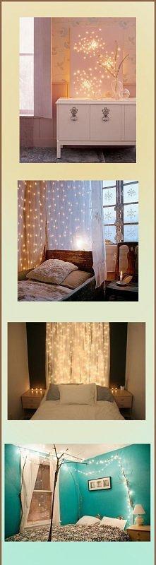 pomysł jak ozdobić sypialni...