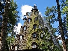 Hotel - wulkan w rezerwacie Huilo Huilo - Chile