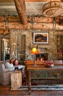 drewno+ kamień uwielbiam