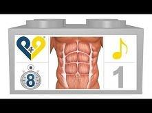 8 minut dziennie na miesnie brzucha ( Brzuch w 8 minut )