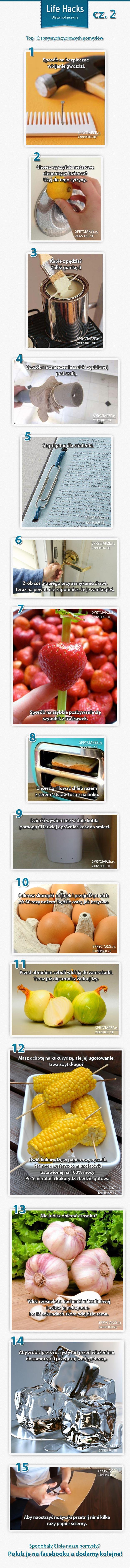 Top 15 życiowych pomysłów